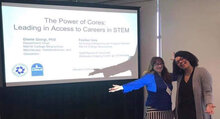 Merritt College faculty present at the Western Association of Core Directors meeting