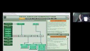 A virtual lab for single-use biomanufacturing