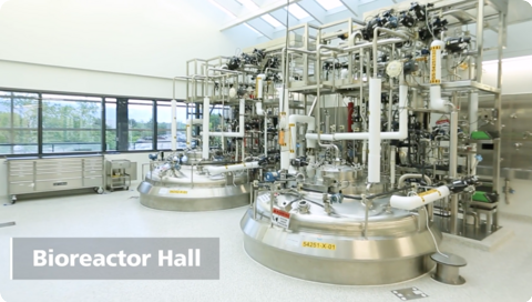 AGC Biologics Bioreactor Hall