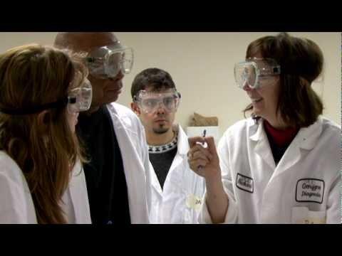 Students talking about Bridge to Biotech Program