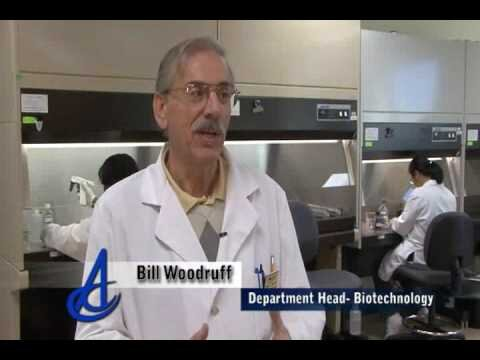 Introduction to Alamance Community College Biotechnology program, biotech coverage starts at 2:25