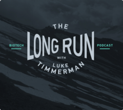 Logo of The Long Run podcast