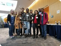 Baltimore City Community College Biotech students at the NIH